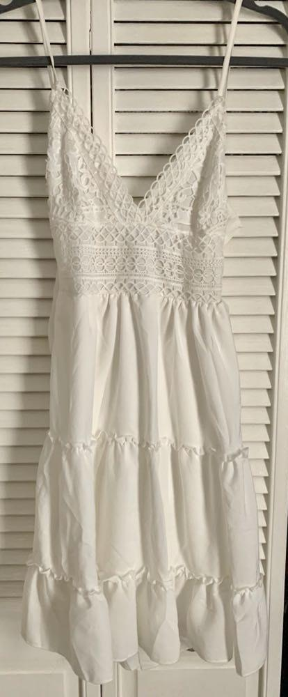 Amazon White Boho Dress