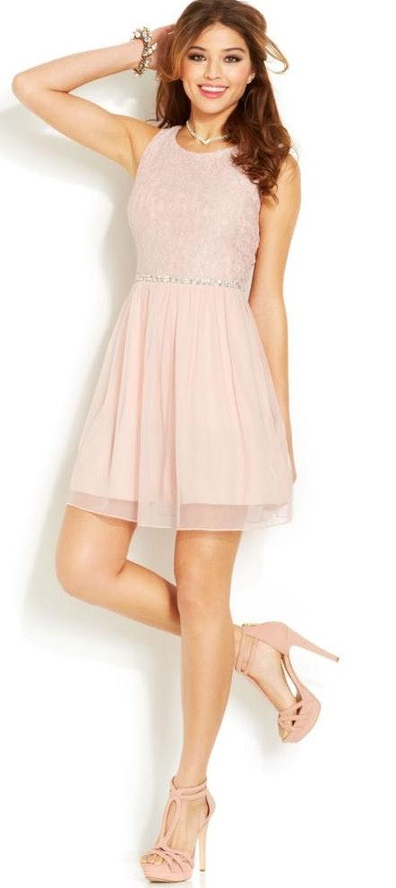 Macy's Lace Homecoming Dress