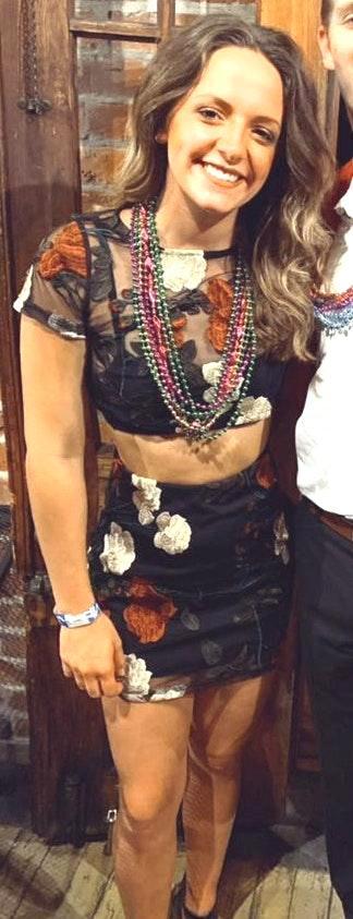 Tobi Two Piece Floral Dress