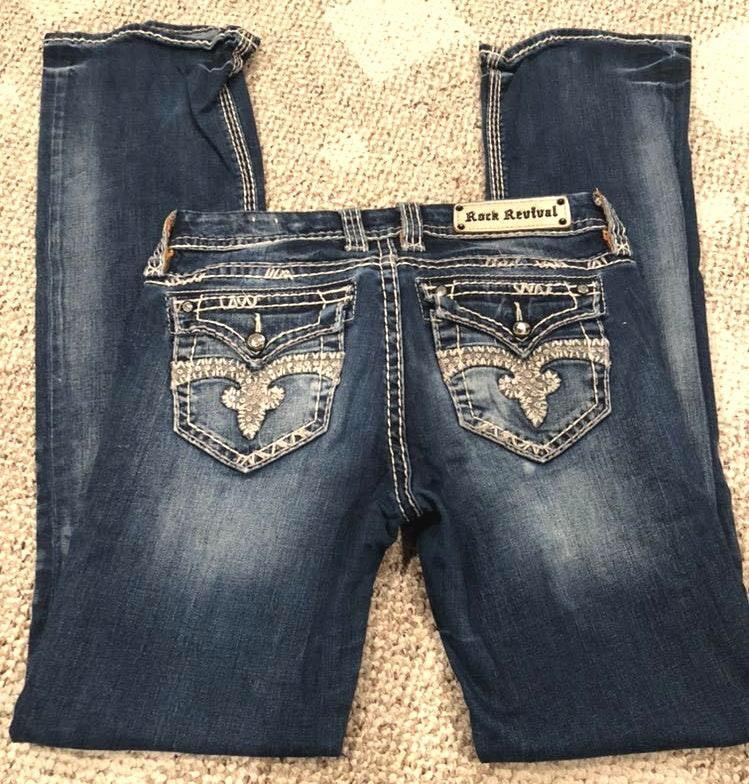 Rock Revival Jeans, Easy Boot, Jillian Style