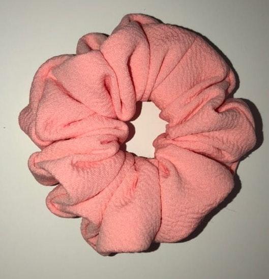 Handmade Baby Pink Scrunchy