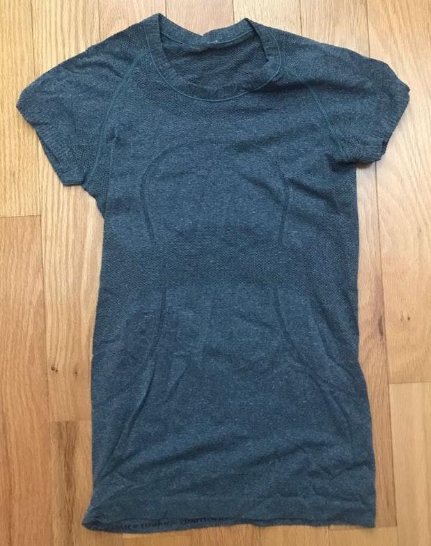 Lululemon Grey Swiftly Tech Shirt