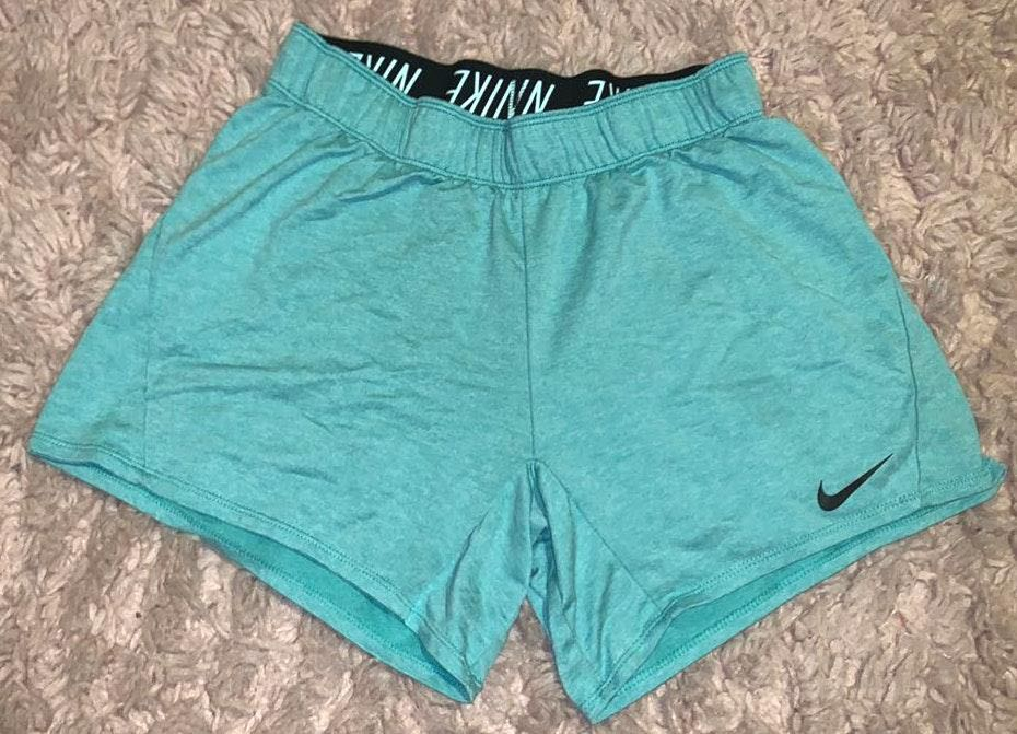 Nike Light Blue  Shorts