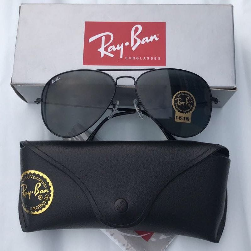 Ray-Ban Ray Ban Aviators 3025 Dark Gray Lenses Sunglasses