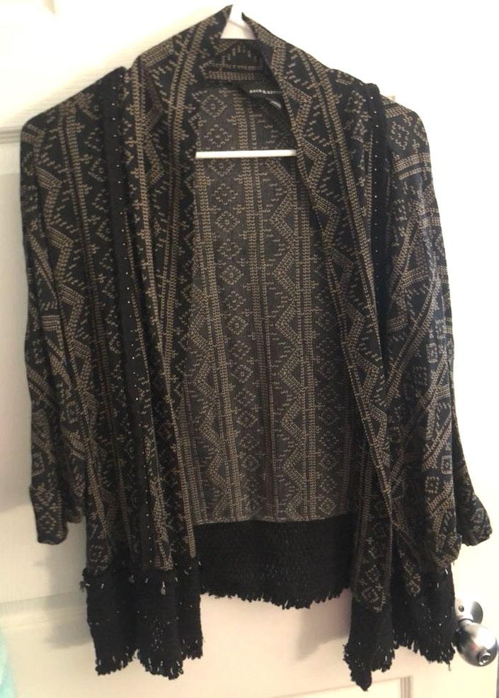 Rock & Republic Stitched Cardigan