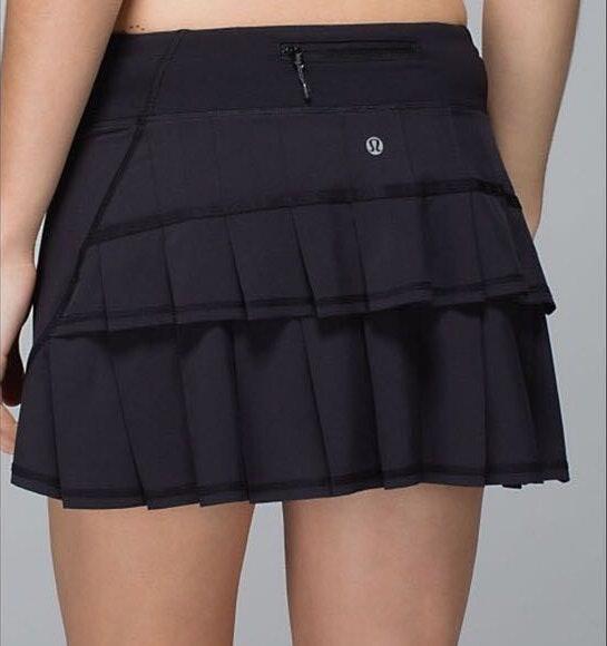 Lululemon Pace Setter Skirt - Black