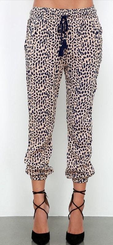 Amuse Society Cheetah pants
