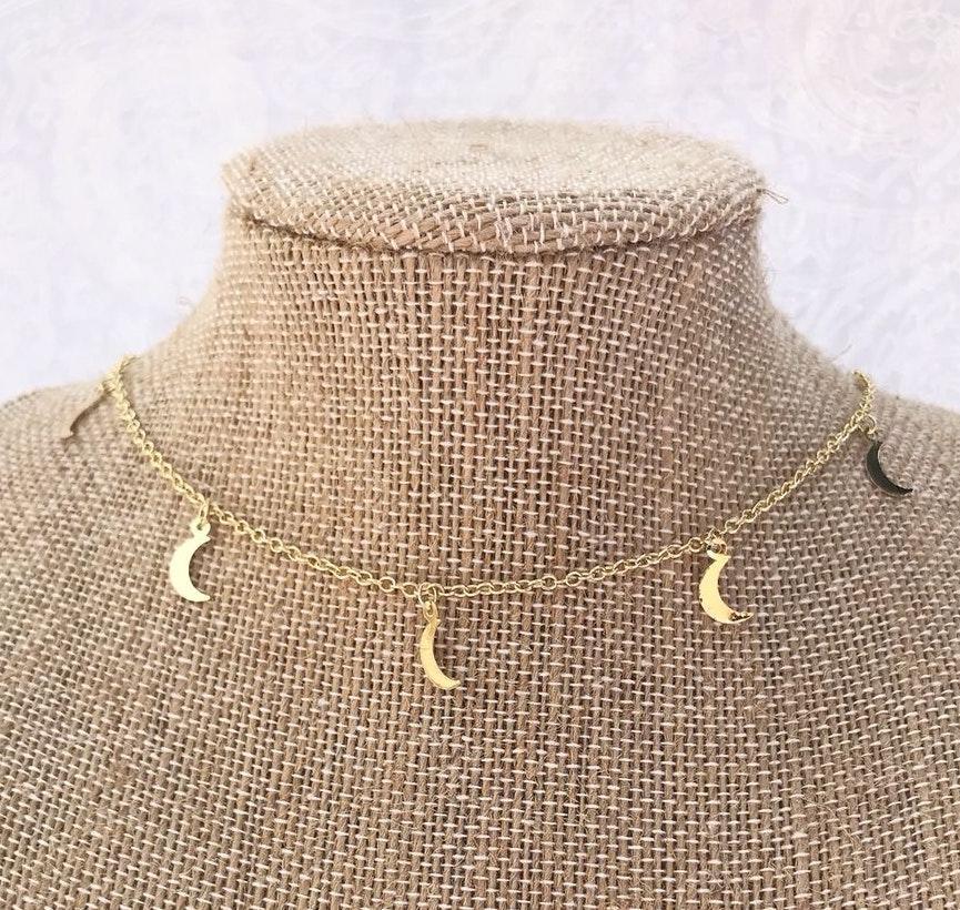Gold Moon Choker