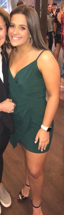 Hunter Green Formal Dress