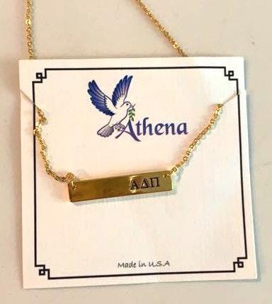 ADPI Gold Bar Necklace