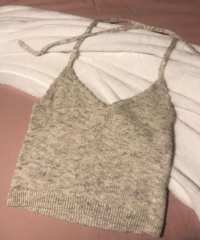 Aerie Crochet Halter Top