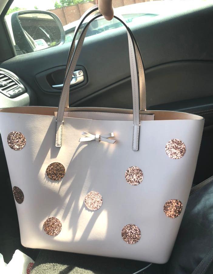 Kate Spade Polka Dotted Shoulder Bag
