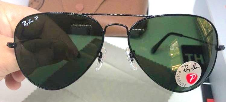 fee8c279c4 America R. is selling her Ray-Ban Rayban Black Polarized 58mm on Curtsy   The buy sell app for CUTE clothes