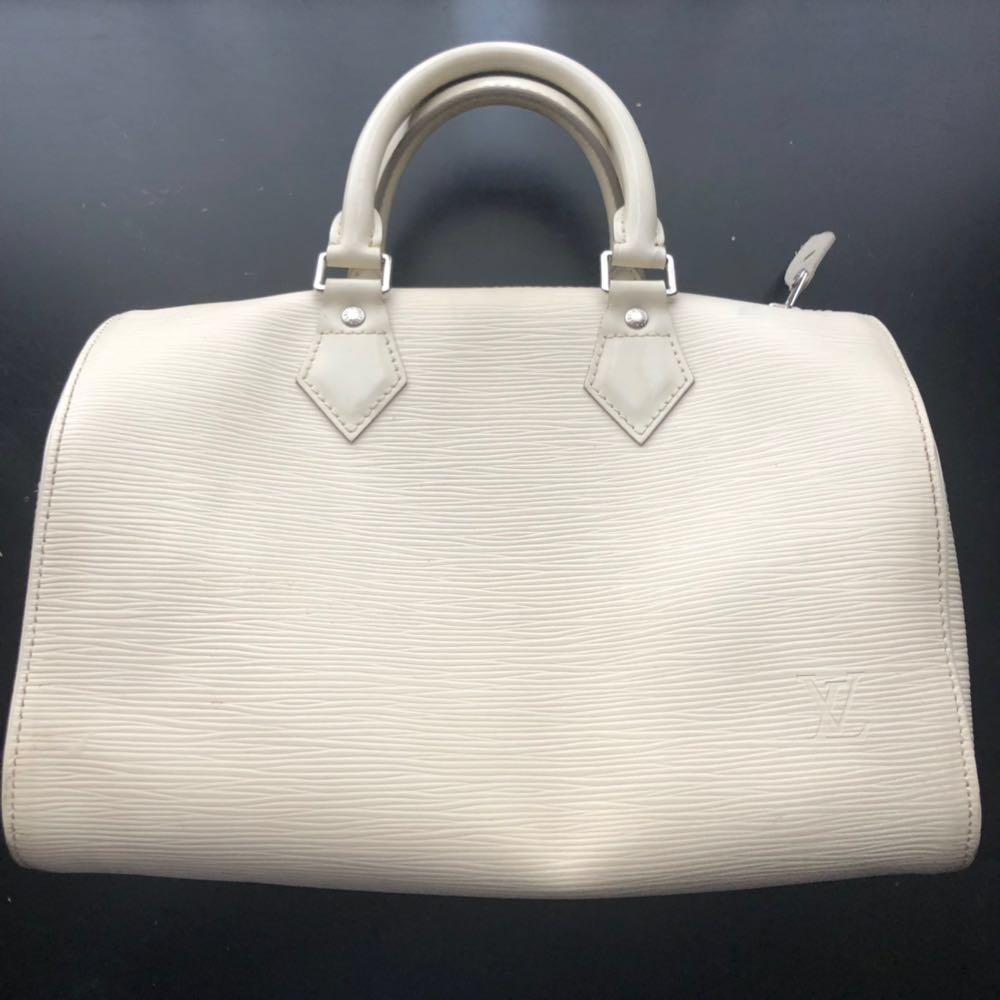 Louis Vuitton Speedy 25 Epi Leather Ivory