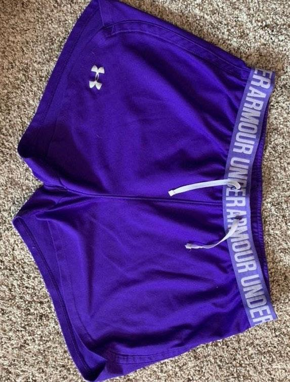 Under Armour Purple shorts