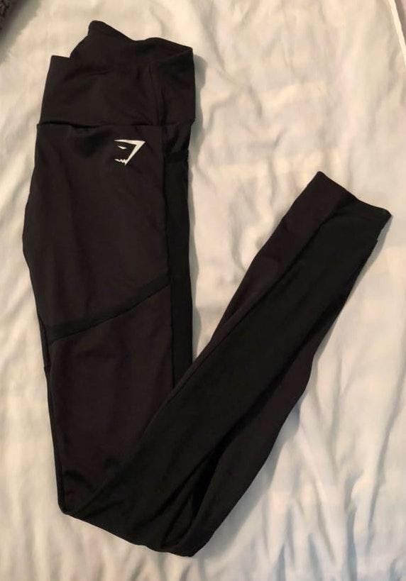 Gymshark Black Mesh Leggings
