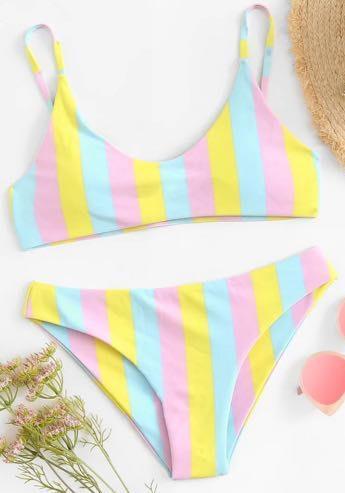 SheIn Striped  Bikini