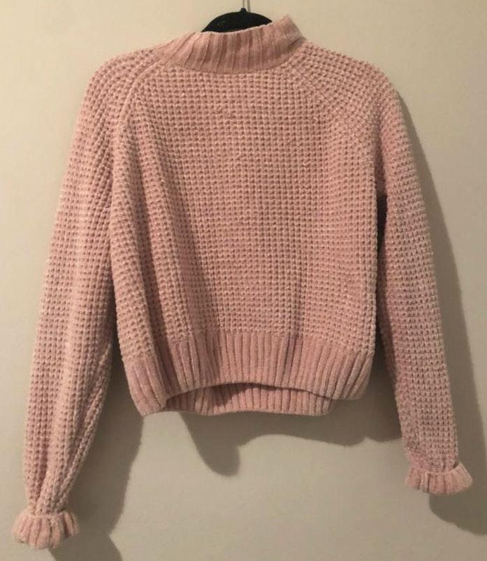 Divided Soft Pink Sweater