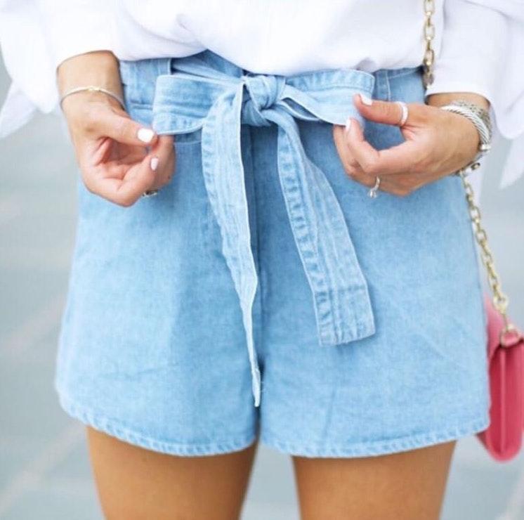 🏷Chambray Shorts