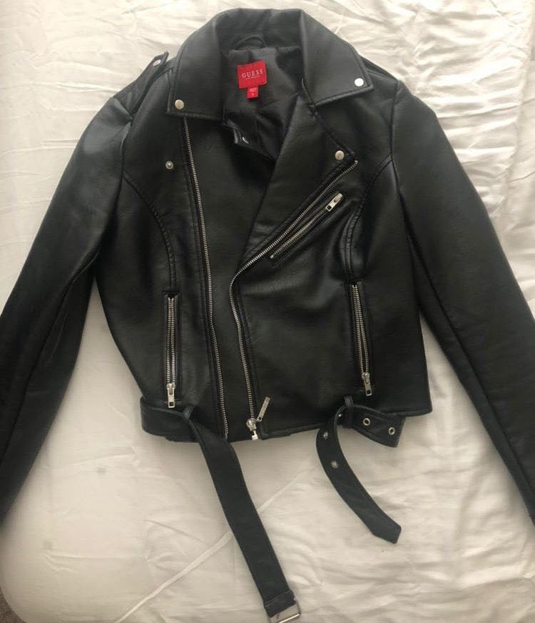 Guess Faux Leather Jacket From