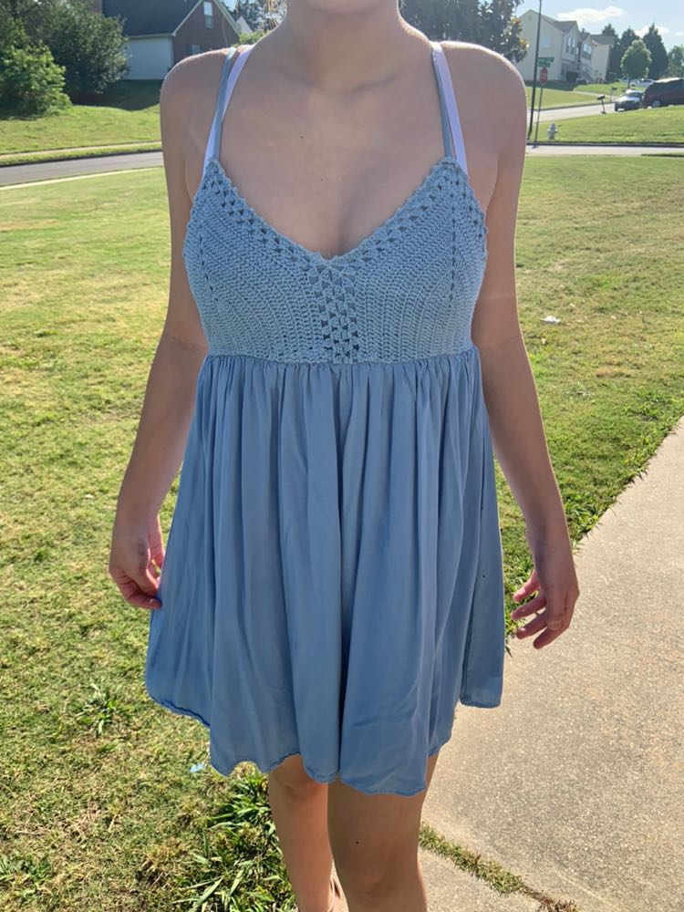 Lulus Blue Lulu's Dress