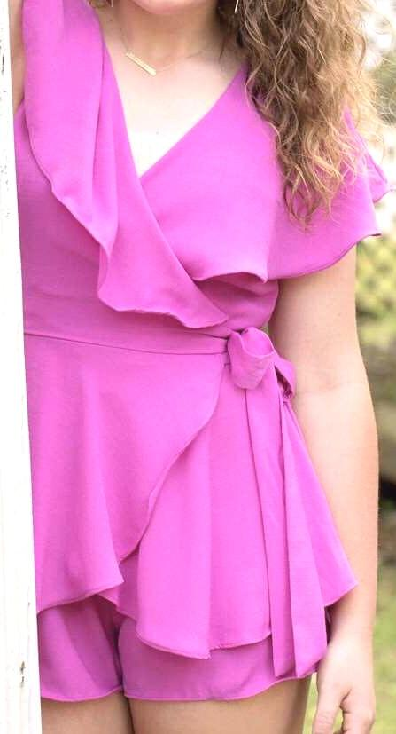 DO+BE pink romper