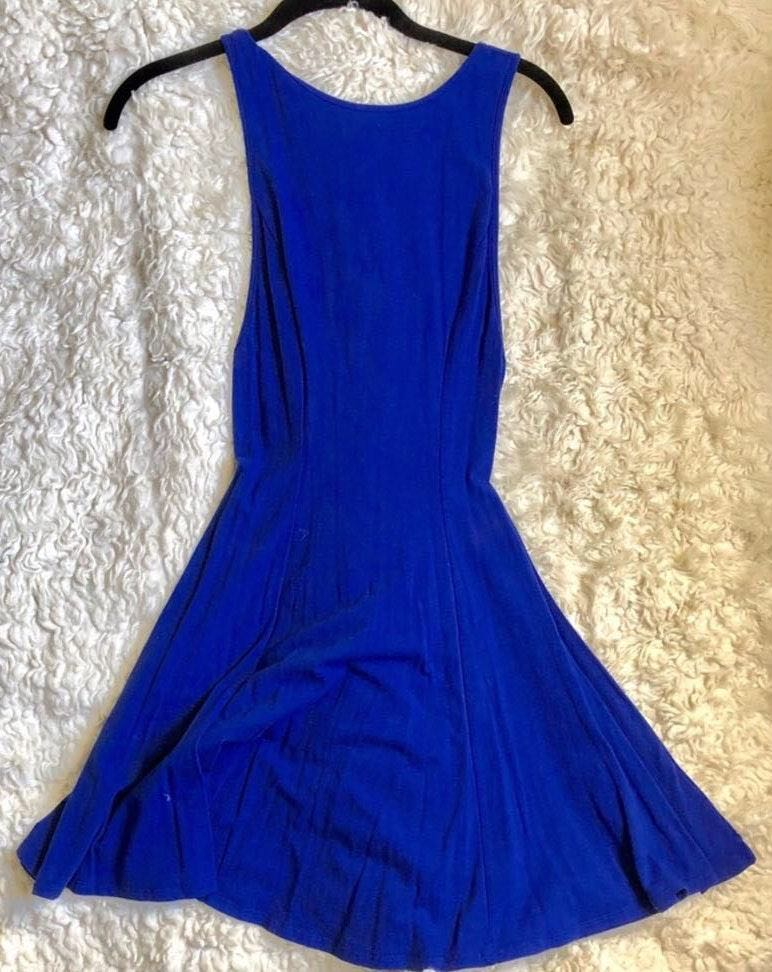 Ecote Urban Outfitters Royal Blue Dress NWOT