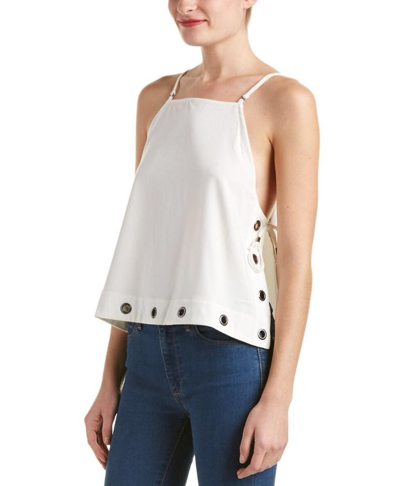Free People Side Tie Top