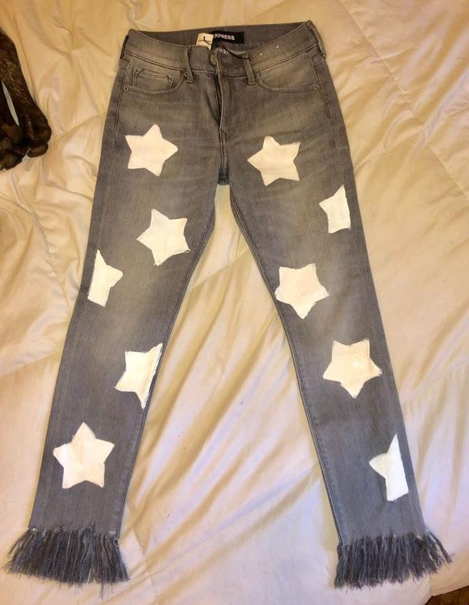 EXPRESS Customized Star Pants