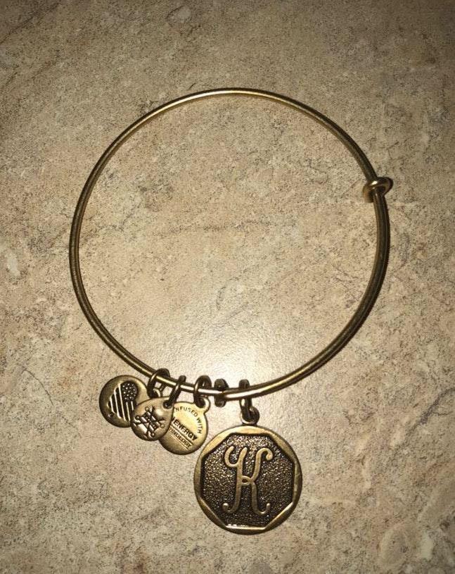 ALEX AND ANI Gold K Bracelet