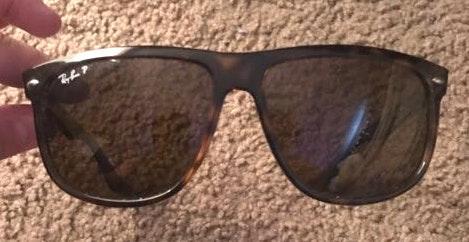 Ray-Ban Tortoise Ray Ban oversized Sunglasses