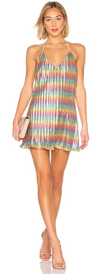 by the way. Rainbow Dress
