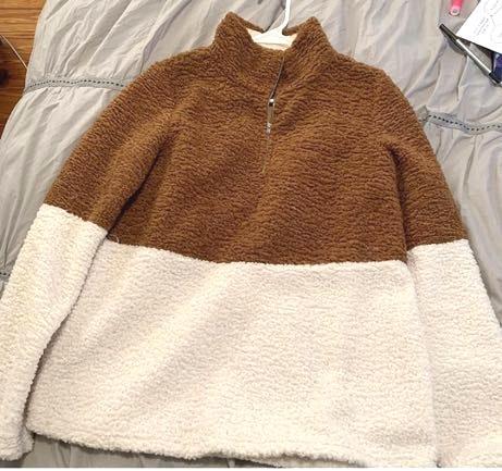 Callie Mae Quarter Zip Pullover