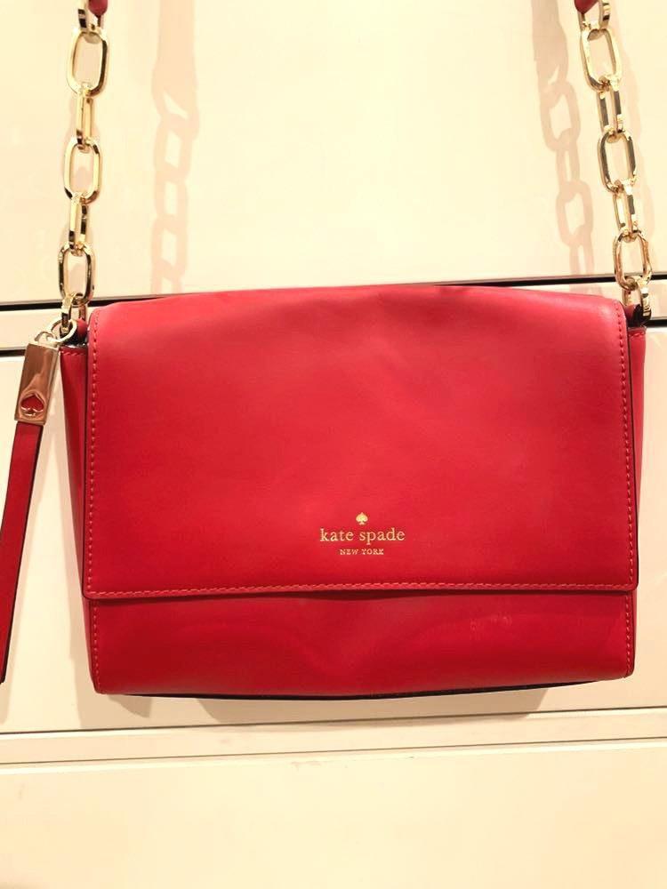 Kate Spade Red  Cross Body Bag
