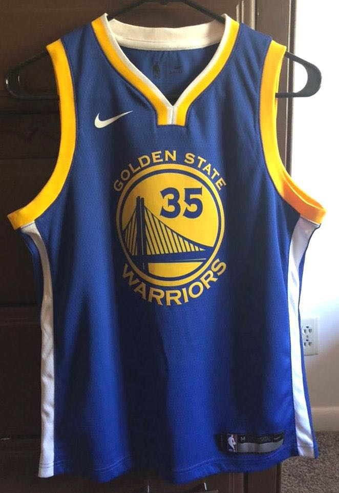 Nike Kevin Durant Golden State Warriors Jersey