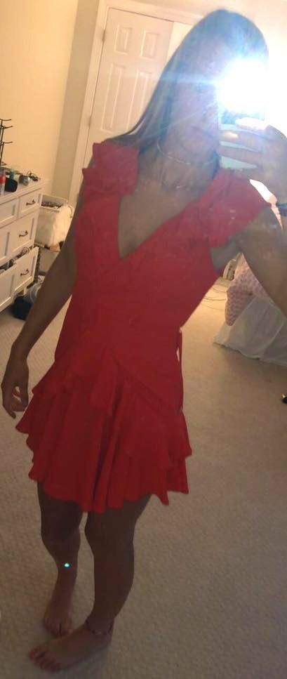 Hello Molly Red Party Dress.