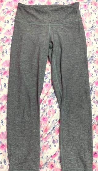 Lululemon Grey Cropped Legging
