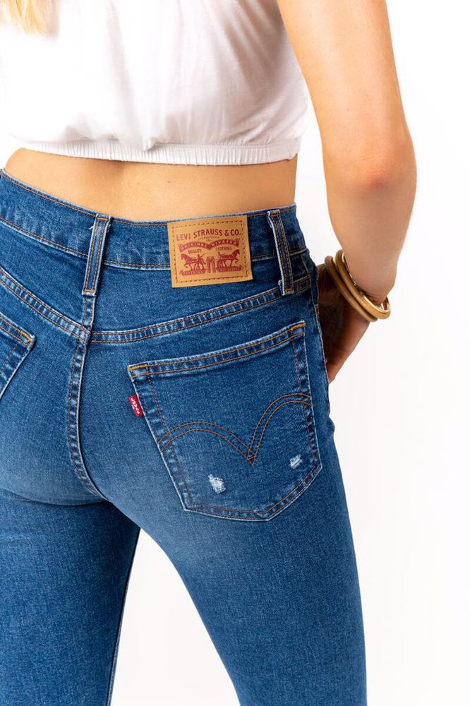 Levi's Wedgie Fit High Rise Jeans