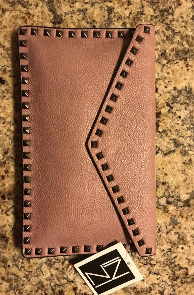 Voge Boutique Studded Clutch
