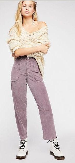 Free People Slouchy Cord Pants