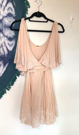 Free People Blush Pink  Dress
