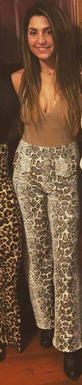 Boohoo Snakeskin Pants