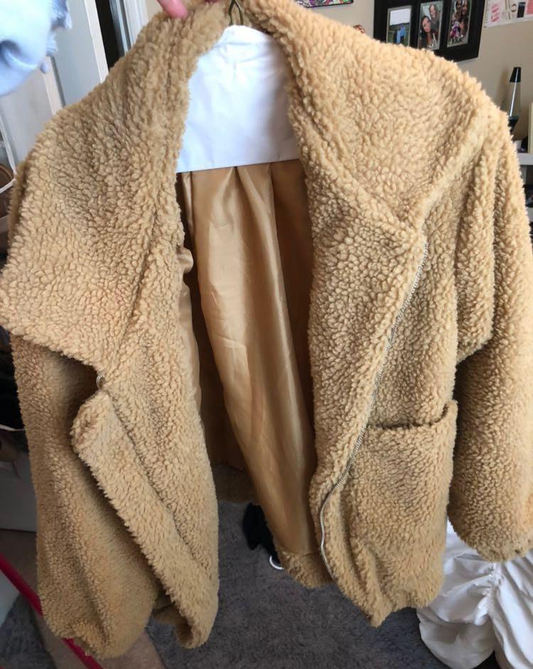 teddy jacket