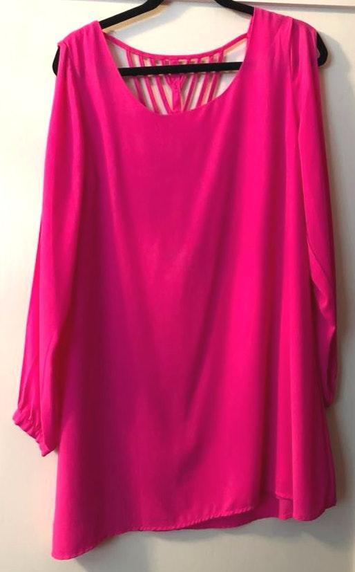 Umgee Neon Pink Dress