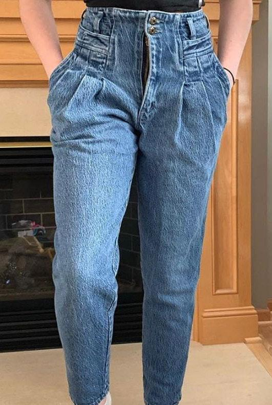 paris sports club Vintage Jeans from 80's