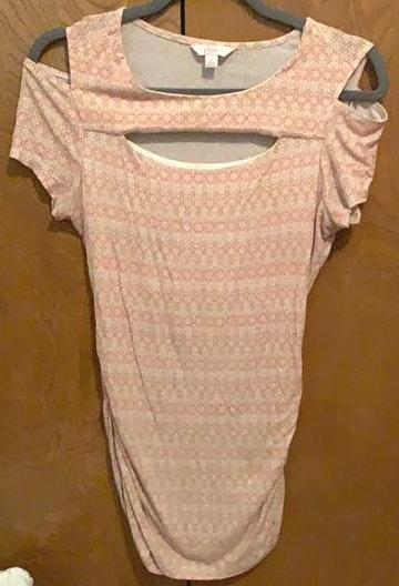 Candie's Pink Patterned Top