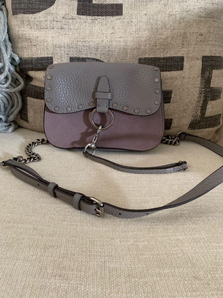 Rebecca Minkoff Keith Small Leather Saddle Bag