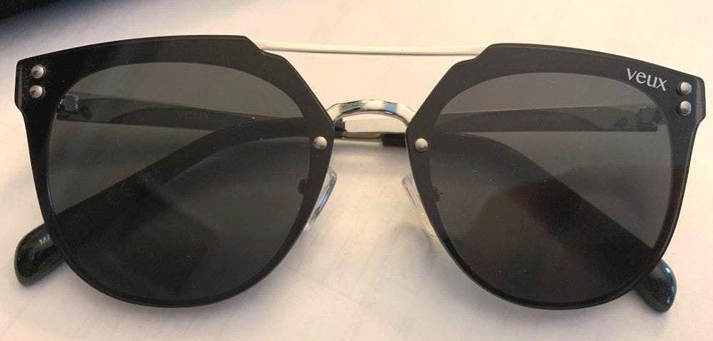 White Fox Boutique Veux Olivet Black Sunnies