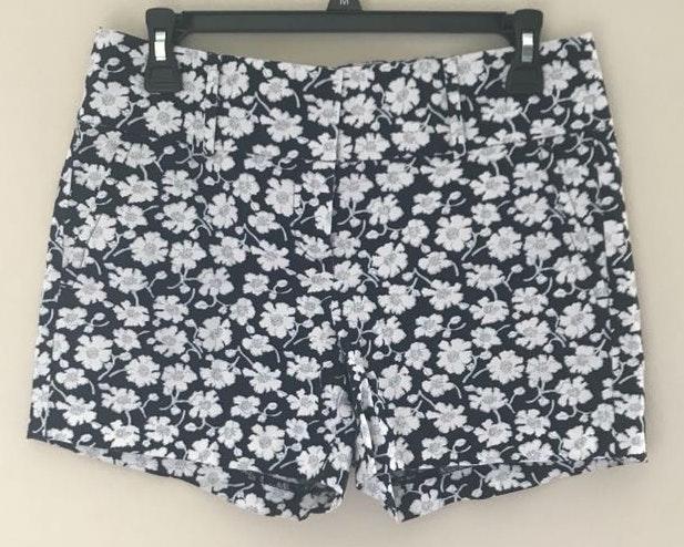 Ann Taylor floral print shorts