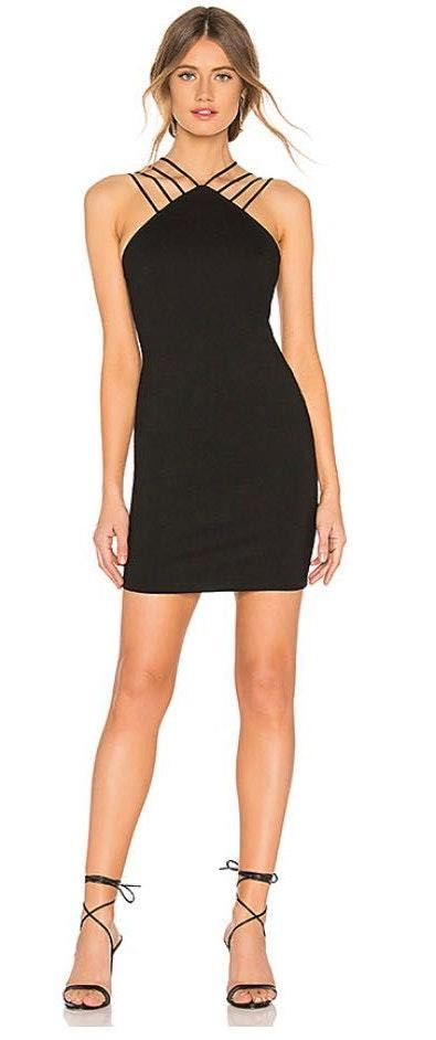 by the way. baylee strap mini dress